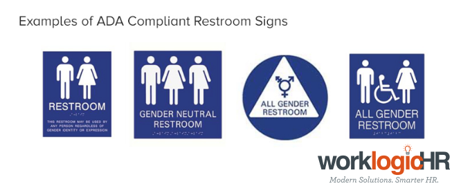 AB All Single User Restrooms In California Must Now Welcome - Gender neutral bathroom signs california